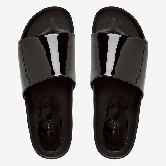 Prue Mule Slide  BLACK  hi-res