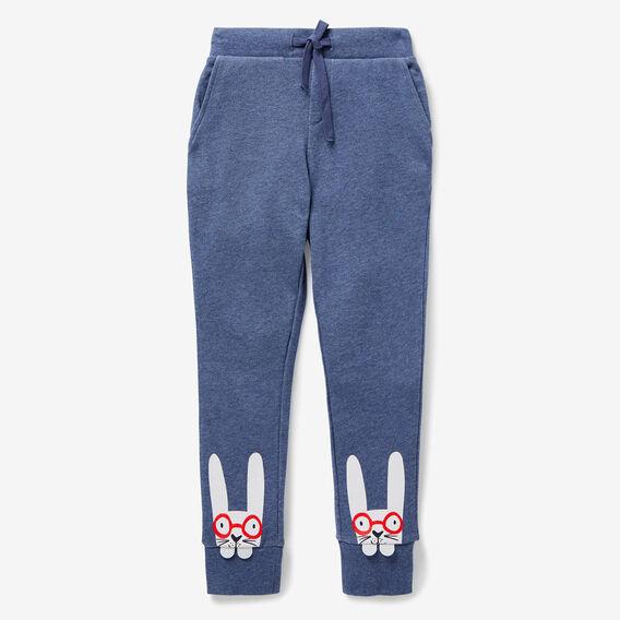 Bunny Track Pant  BLUE BEAR MARLE  hi-res