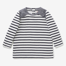 Spliced Stripe Tee  VINTAGE WHITE  hi-res