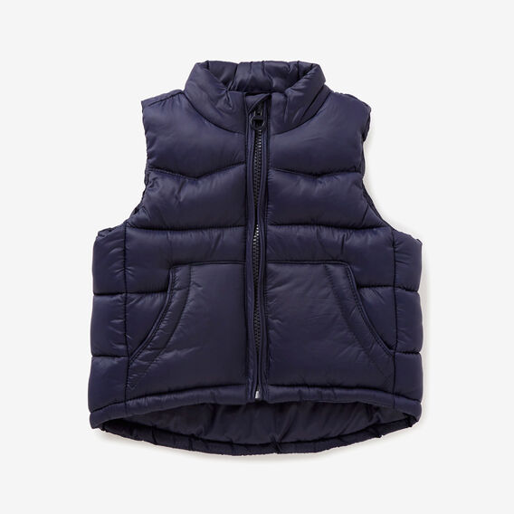Nylon Vest  MIDNIGHT BLUE  hi-res