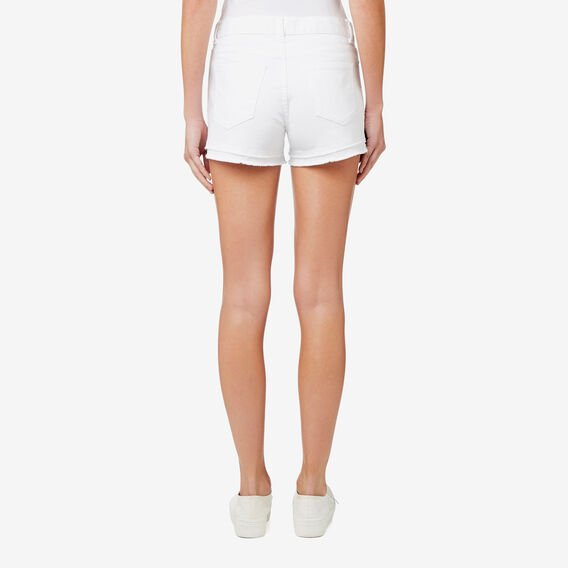 Denim Short  BRIGHT WHITE  hi-res