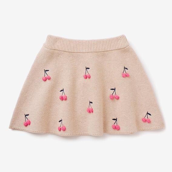 Cherry Bobble Skirt  OAT  hi-res