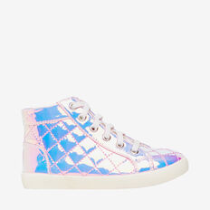 Iridescent High Tops  PINK IRIDESCENT  hi-res