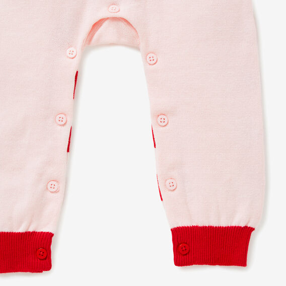 Knit Jumpsuit  SOFTEST PINK  hi-res
