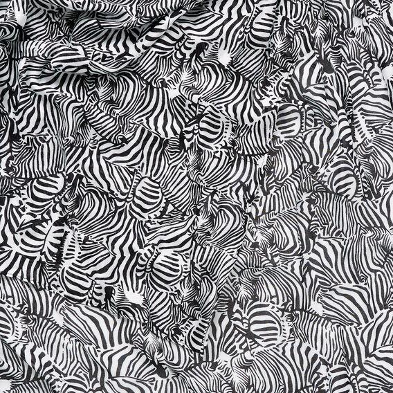 Zebra Herd Scarf  BLACK/WHITE  hi-res