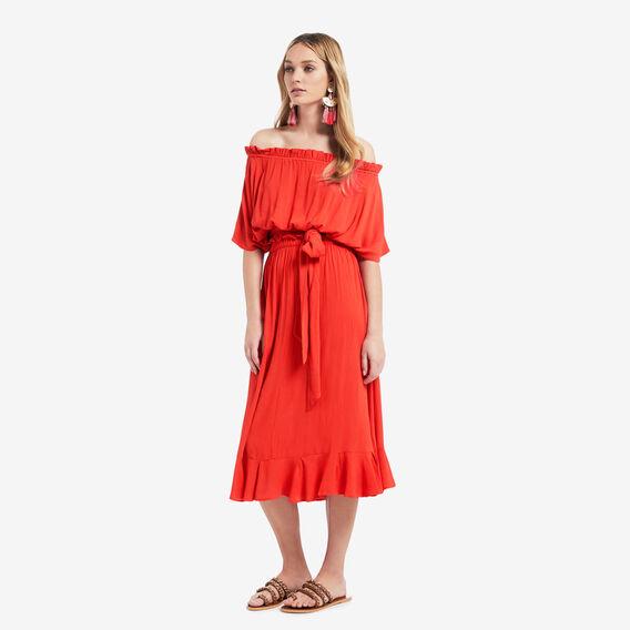Maxi Skirt  ROYAL RED  hi-res