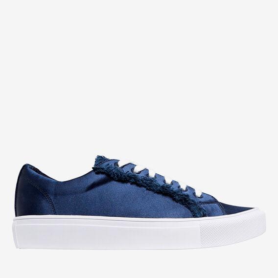 Adele Satin Sneaker  NAVY  hi-res