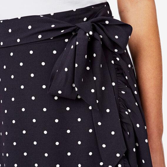 Frill Detail Skirt  SPOT  hi-res