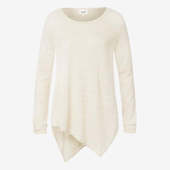 Asymmetrical Sweater  OAT MARLE  hi-res