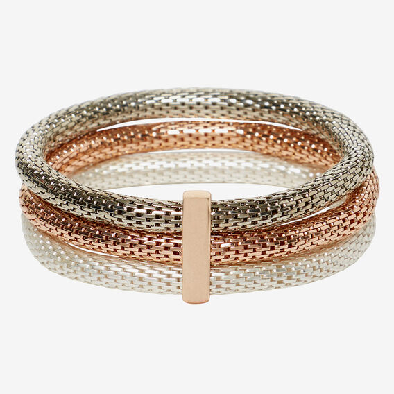 Trio Mesh Bracelet Set  MULTI  hi-res