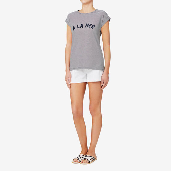 A La Mer T-Shirt  STRIPE  hi-res