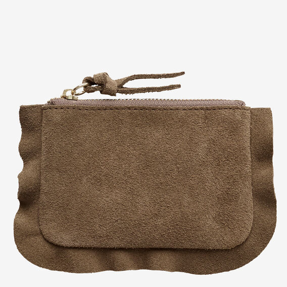 Frill Coin Purse  PALE GREEN  hi-res