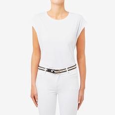 Multi Braid Belt  BLACK  hi-res