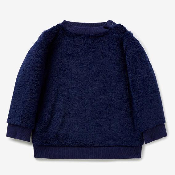 Fluffy Crew Sweater  MIDNIGHT BLUE  hi-res