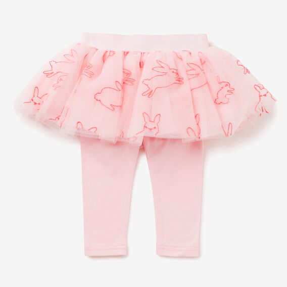 Embroidered Tutu Legging  ICE PINK  hi-res