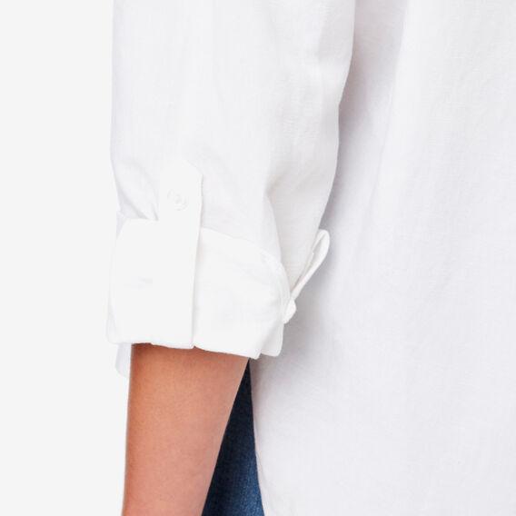 Linen Comfy Shirt  WHISPER WHITE  hi-res