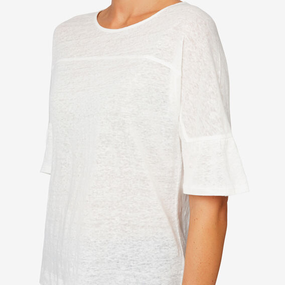 Panel Frill Tee  CANVAS  hi-res