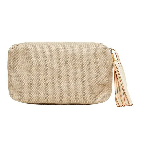 Small Cosmetic Bag  NATURAL  hi-res