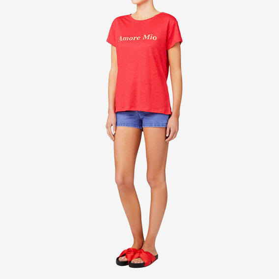 Amore Mio Tee  ROYAL RED  hi-res