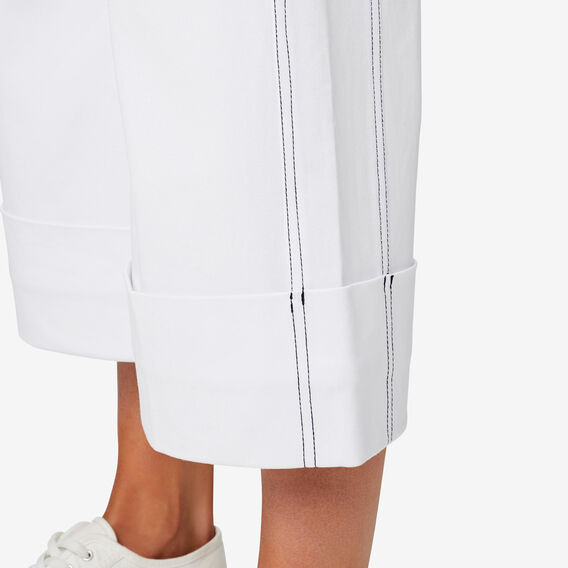 Stitch Detail Pant  BRIGHT WHITE  hi-res