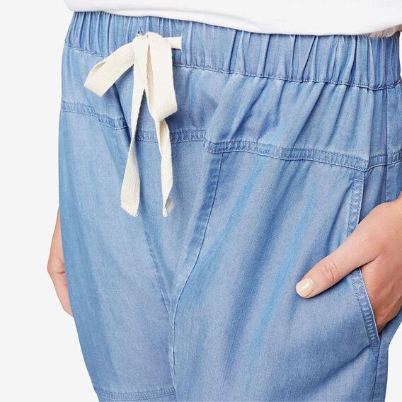 Tencel Slimline Harem Pant  DEEP SPRING BLUE  hi-res