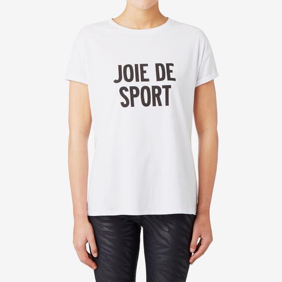 Joie De Sport Tee  SNOW WHITE  hi-res