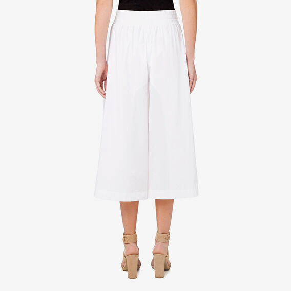 Wide Leg Culottes  BRIGHT WHITE  hi-res