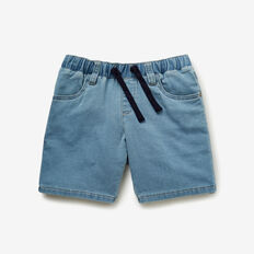 Denim Terry Short  LIGHT BLUE WASH  hi-res