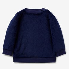 Fluffy Crew Sweater  MIDNIGHT BLUE  hi-res