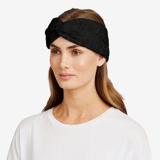 Estelle Knit Turban  BLACK  hi-res