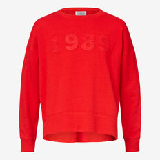 Applique Windcheater  ROSE RED  hi-res