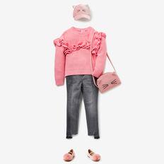 Frill Sweater  BUBBLEGUM  hi-res