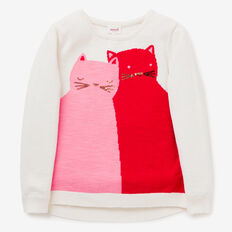 Kitty Sweater  CANVAS  hi-res