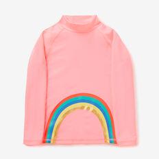 Rainbow Rashie  PINK GRAPEFRUIT  hi-res