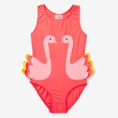 Swan Bather  CORAL PINK  hi-res