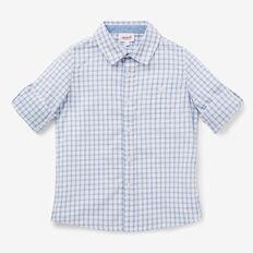 Open Check Shirt  VINTAGE WHITE  hi-res