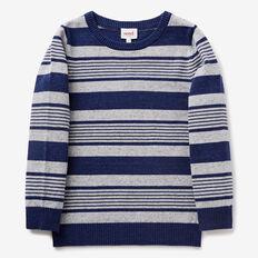 Stripe Crew Knit  MULTI  hi-res