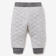 Quilted Speckle Track Pant  GREY SPECKLE MARLE  hi-res