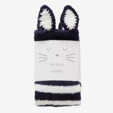 Kids Bedtime Socks  MIDNIGHT BLUE  hi-res