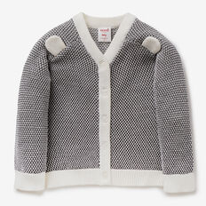 Bird's Eye Knit Cardigan  NB CANVAS  hi-res