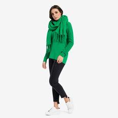 V-Neck Clean Lines Sweater  EMERALD  hi-res