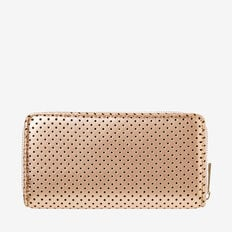 Zip Around Wallet  ROSE GOLD  hi-res