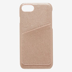 Card iPhone Case X  ROSE GOLD  hi-res