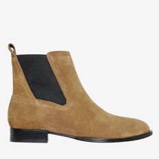 Jane Suede Gusset Boot  TAN  hi-res