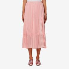 Pleat Skirt  BLOSSOM PINK  hi-res