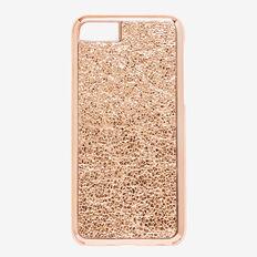 Metallic Crackle Phone Case 7  ROSE GOLD  hi-res