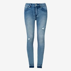 Turn-Down Hem Jean  BRIGHT WASH  hi-res