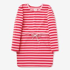 Stripe Tie-Waist Dress  RUBY RED/BUBBLEGUM  hi-res