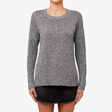 Twist Marle Sweater  CHARCOAL TWIST  hi-res