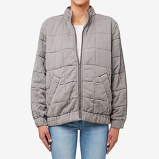 Quilted Jacket  DUSK GREY  hi-res